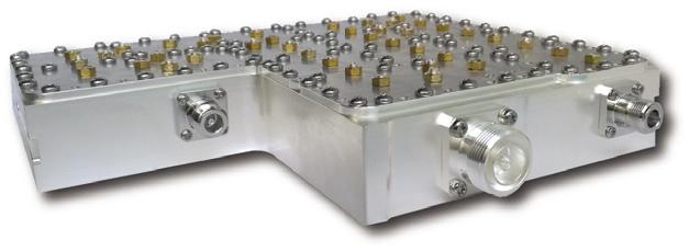 超低无源互调腔体滤波器